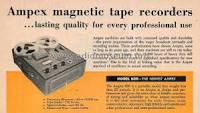 registratore portabile Ampex Model 600